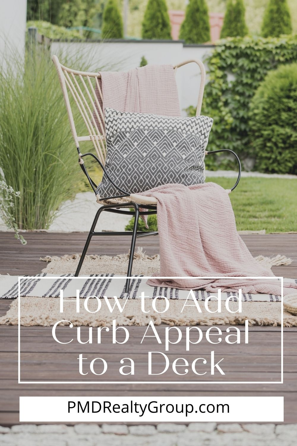 How to Add Curb Appeal to a Deck