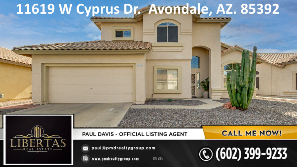 Garden Lakes Avondale AZ Home For Sale in the Phoenix West Valley in Avondale