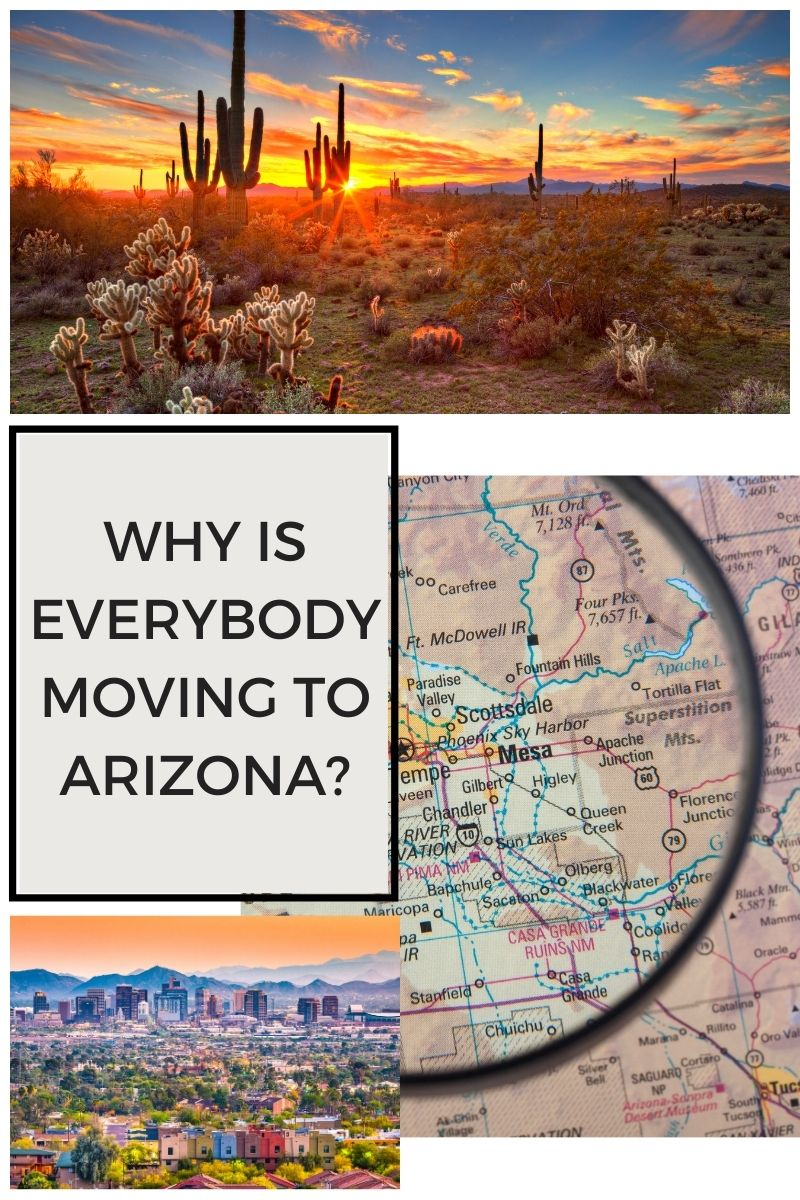 Why is Everybody Moving to Arizona?