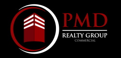 PMD Realty Group Commercial Real Estate Logo Commercial Property For Sale and For Lease